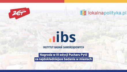 Sondaże IBS dla radiozet.pl i Lokalnej Polityki nagrodzone