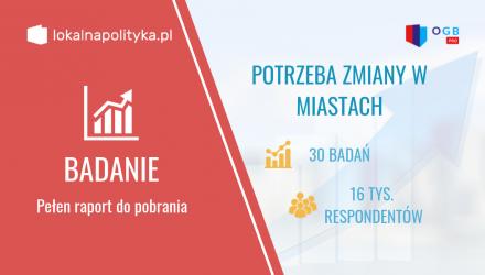 Potrzeba zmian a płeć i wiek mieszkańców polskich miast